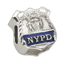 amazon com new york city police department nypd shield charm