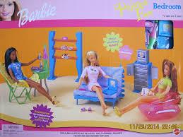 amazon com barbie pajama fun bedroom playset 1999 toys u0026 games