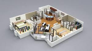 house plans 2 bedroom gorgeous inspiration 5 single floor home design plans 3d 2 bedroom