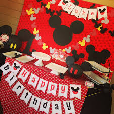 mickey mouse decorations mickey mouse party decorations ideas popular mickey mouse