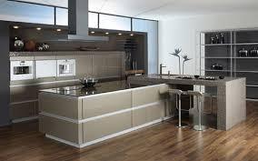 sleek black granite countertop look great ivory wooden kitchen
