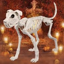 Halloween Skeleton Dog Decoration by Aliexpress Com Buy Skeleton Big Size Dog 100 Plastic Animal