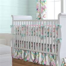 Bright Crib Bedding Bright Damask Butterflies Crib Bedding Carousel Designs