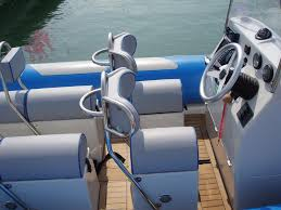 siege rib outboard boat rigid center console 12 person max