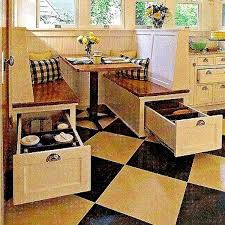 Best  Space Saving Dining Table Ideas On Pinterest Space - Booth kitchen tables