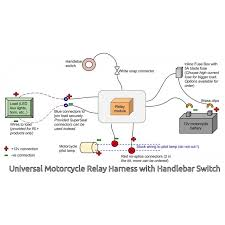 universal motorcycle wiring harness kit diagram wiring diagrams