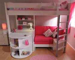 High Sleeper Bed With Desk And Sofa High Sleeper With Sofa Bed Pull Out Desk My Delicate Dots