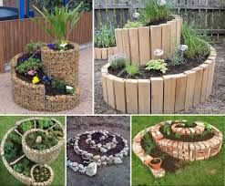 herb gardens diy spiral herb gardens pictures photos and images for facebook