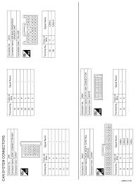 nissan rogue service manual wiring diagram can lan system