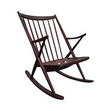 Rocking Chair Frank Reenskaug Bramin Danish Teak Rocking Chair Chairish
