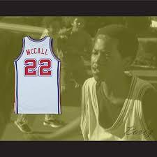 quincy u0027s dad zeke mccall 22 pro career basketball jersey