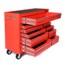 buy maxim 28 drawer combo red tool box locker side cabinet 76 inch