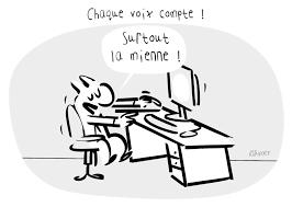 dessin humoristique travail bureau la vie de bureau les élections professionnelles rapaport