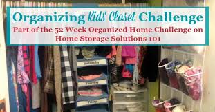 organizing closet challenge declutter u0026 organize kids u0027 closets