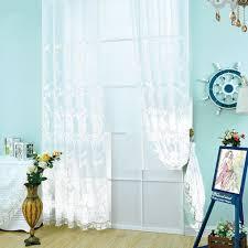 online get cheap embroidered sheer curtain aliexpress com