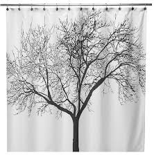 Bed Bath And Beyond Tree Shower Curtain The Yellow Cape Cod Contemporary Bathroom Featuring Gold Fixtures