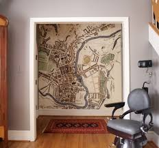vintage world map framed hall traditional with feature wall vintage world map framed hall traditional with feature wall vintage barber chair door casing wall mural