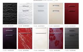 high gloss red kitchen cabinet doors kitchen