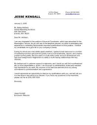accounts assistant cover letter account executive cover letter