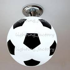 boys room ceiling light fashion boy s room football ceiling l cute cartoon children s