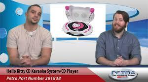 kitty cd karaoke system player