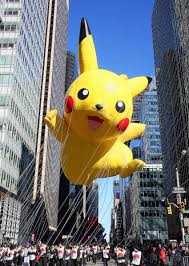 a new pikachu balloon will debut at macy s thanksgiving day parade