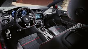 volkswagen gti interior the new golf gti