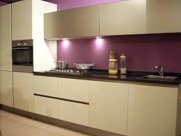 meuble de cuisine aubergine zeitgenössisch meuble cuisine prune haus design
