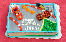 pixar cars themed custom cake rockin mama