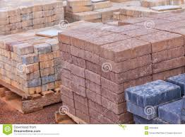 Patio Pavers On Sale Concrete Pavers Stock Image Image Of Loading Patio 33264909