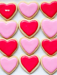 valentines day cookies sweet on sugar cookies plus valentines day hearts foodiecrush