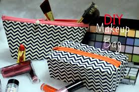 home for the holidays series makeup bag diy youtube