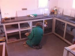 cuisine beton cellulaire faire sa cuisine en siporex diy kitchen cuisine