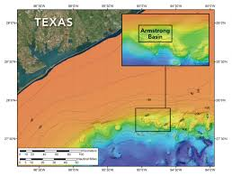 Gulf Of Mexico Depth Map a hole in the bottom of the sea unh today