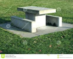 Concrete Tables For Sale Round Concrete Table And Benches Concrete Bench Banning Justice