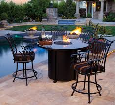 Bar Height Patio Furniture by Dining Room Amazing Franklin Agio International Intended For Bar