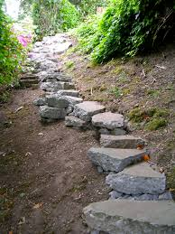 Rock Garden Steps by 15 Awesome Diy Garden Steps And Stairs