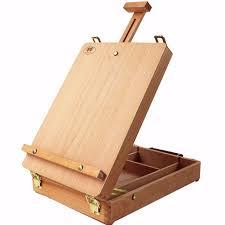 chevalet de bureau filet de bureau caballete boîte chevalet peinture matériel