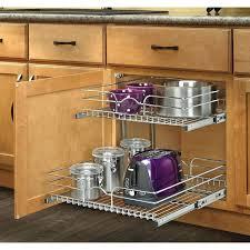 Kitchen Cabinet Rolling Shelves Pantry Storage Shelves Exles Contemporary Kitchen Cabinet Slide