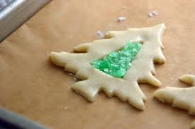 stained glass cookies for the holidays