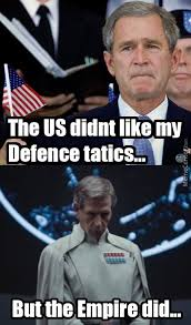 george bush as a imperial grand admiral by xethium meme center