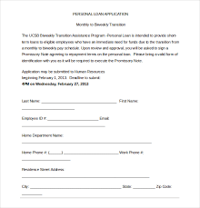 sample loan agreement form 9 free documents in pdfloan