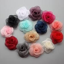flower for hair handmade felt flower diy for hair accessories headband