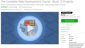 udemy black friday 35 udemy courses for web developers programmers u0026 coders