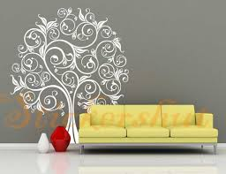 28 wall stickers au horses head wall art stickers wall wall stickers au white flower tree wall decals et18 58 00 wall
