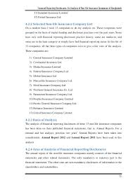 financial reporting disclosures an analysis of non life insurance co u2026