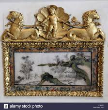 detail from the surround of an 18th century oriental style adam