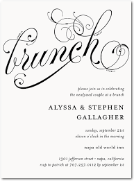 after wedding brunch invitations post wedding brunch for the bridal party ideally at beehive