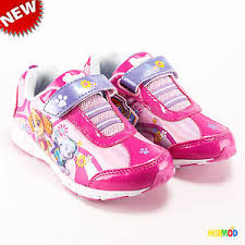 light up shoes size 12 paw patrol girls flower run light up pink purple sneakers shoes