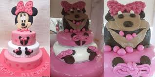 minnie mouse birthday cake are freaking out this epic disney birthday cake fail